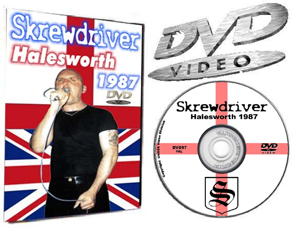 Skrewdriver Live in Halesworth England 1987